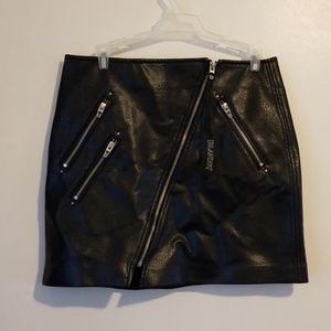 Blank NYC leather skirt size 28 NWT